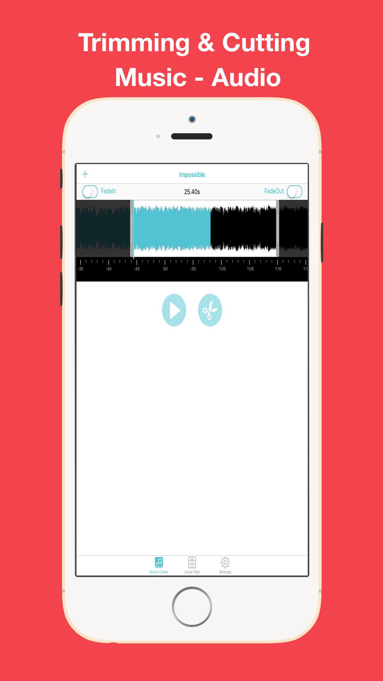 MP3 Cutter – Cut Music Maker and Audio