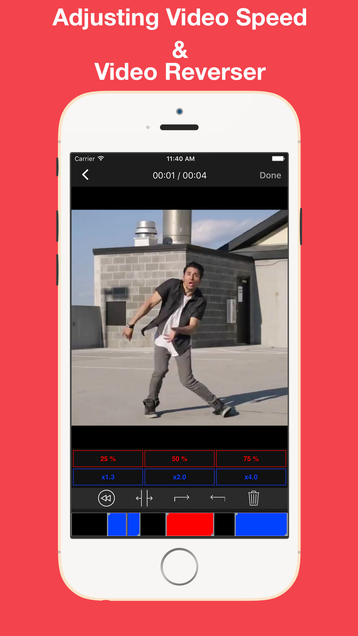 Video Reverser – Reverse Video Creator With MP3